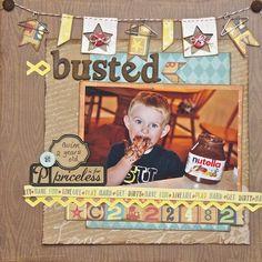 Busted - Scrapbook.com