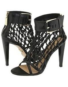 Faith L.A.M.B. caged booties