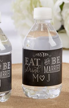 Eat, Drink, and Be Married.