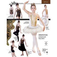 Jalie 2915 - Princess-Seam Ballet Leotard Pattern - Jalie Sewing Patterns found on Polyvore