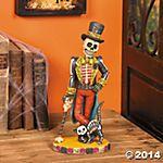 Day of the Dead Vintage Skeleton