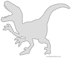 Dinosaur Patterns and Stencils (Printable Templates) Dinosaur Outline, Dinosaur Stencil, Dinosaur Template, Dinosaur Silhouette, Animal Stencil, Dinosaur Pattern, Animal Silhouette, Free Stencils, Stencil Templates