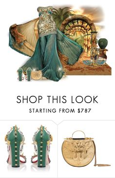 """Egyptian Princess"" by majezy ❤ liked on Polyvore featuring Gucci and Okhtein"