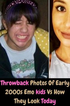 The early 2000s were a wild ride for all of us. Fashion was extremely different than what it is today. Makeup styles were much heavier, and the hair... Bangs, stripes, swoops, skullets, you name it, we all had something exceptional going on our heads. So let's look back at some kindred spirits who went fully emo and how they've changed in recent years. You won't believe their transformation!