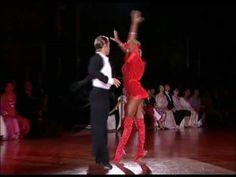 Riccardo Cocchi & Yulia Zagoruychenko - Hello Baby. I was lucky to see them perform this! So fun.