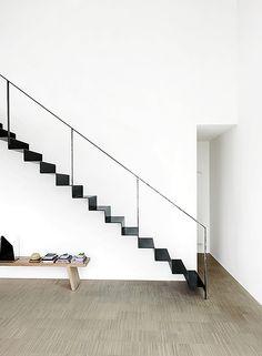 Escadas transformam o visual dos ambientes da casa