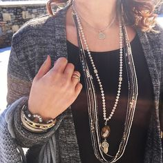 New jewelry and snow!! Perfect match! #pdstyle #pdeveryday
