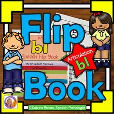 Articulation and learning 'l' blends is easy with this 'bl' flip book.  This product contains 2 x 8 pages flip books: the pages are packed with pictures and activities and can be used to make a flip book that will learning speech sounds hands on and interactive.Version 1- is a black and white flip book.