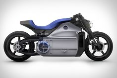 The world's most powerful (200hp) all-electric motorcycle is also the world's ugliest. Voxan Wattman Motorcycle
