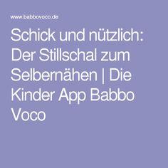 Schick und nützlich: Der Stillschal zum Selbernähen | Die Kinder App Babbo Voco
