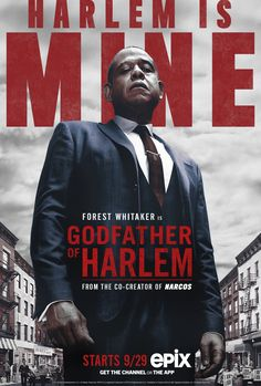 Trailers, featurette, images and posters for Epix's new crime drama series GODFATHER OF HARLEM starring Forest Whitaker. Malcolm X, Hd Movies, Movies To Watch, Movies Online, Movie Tv, Bumpy Johnson, Mafia, Tv Series Online, New Series
