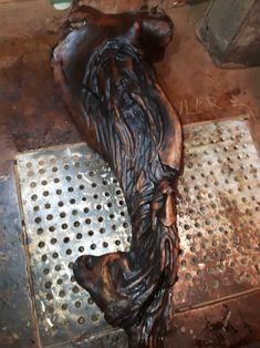 Wood spirits in driftwood