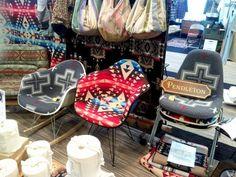 boho chairs. pendleton