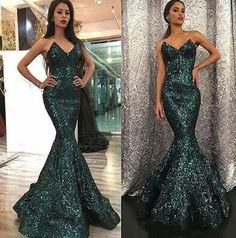 Green Sequin Prom Dress,Sparkly V Neck Prom Dress,Sexy Prom Dress,Cust – shuiruyan Sparkly Prom Dresses, High Low Prom Dresses, V Neck Prom Dresses, Mermaid Prom Dresses, Party Dresses For Women, Homecoming Dresses, Sexy Dresses, Beach Dresses, Wedding Dresses