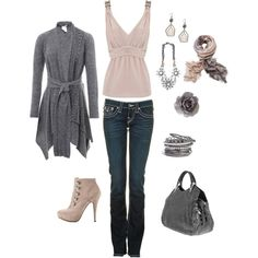 Casual Outfits 2012 - Smoky Pink
