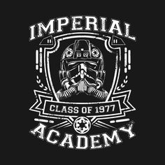 Check out this awesome 'IMPERIAL+ACADEMY-Tie+Fighter' design on @TeePublic!
