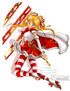 Sailor Moon - Christmas Edition by *selinmarsou
