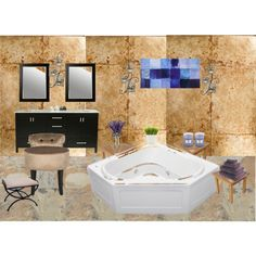 Time to relax by vonda-brooks on Polyvore featuring interior, interiors, interior design, home, home decor, interior decorating, Safavieh, Anderson Teak, International Caravan and WoodWick