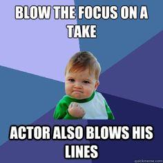 yesss... film set jokes.