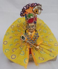 Mahashringar Laddu Gopal (size3,4 ) Dress Price in India - Buy Mahashringar Laddu Gopal (size3,4 ) Dress online at Flipkart.com