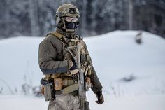 Russian Spetsnaz, unknown unit, probably FSB.