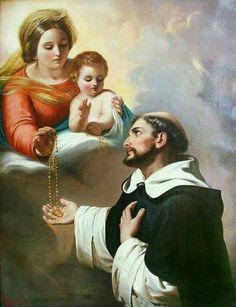 """""""Os nomes de Jesus e Maria, são duas fornalhas em que se torram os Demônios"""" (Palavras de Maria Santíssima ao Beato Alano de La Roche)."""