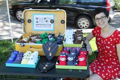 Selling at my first local craft fair. by Fairweather Friends Blog