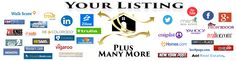 Flat Fee Listing Company You get Full Realty Services and Your home listed in all these places plus many more http://coloradoflatfeerealty.com/FlatFeeMLS