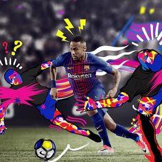 The shirt that never sleeps for the game that never stops.  The new 17-18 @fcbarcelona Home kit is now available - link in bio. --- #Football #Soccer #FCB #FCBarcelona #Barcelona #Neymar #forçabarça #viscabarça
