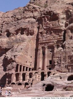 Petra - listed by the BBC as one of the 40 places to see before you die.