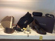 Scarpa borsa vintage occhiali...semplicemente Gucci!