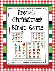 French Christmas Worksheets and Activities Christmas Bingo Game, Grinch Christmas Party, Christmas Worksheets, Holiday, French Teaching Resources, Teaching French, Teaching Ideas, French Christmas, Noel Christmas