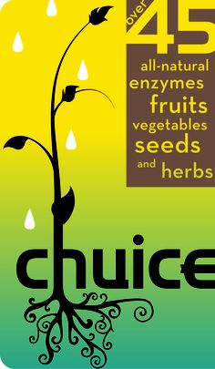 Chuice all natural enzymes fruits vegetables seeds and herbs