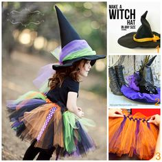 Lydia, how about this for a witch costume?  Black shirt, black leggings, we make a tutu and a hat to go with it?