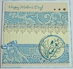 Mother's Day Card - Homemade Homemade, Day, Cards, Home Made, Maps, Playing Cards, Hand Made