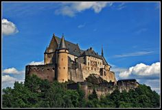 Vianden Castle - Luxembourg, a nice place to propose..