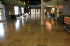 """Epoxy flooring from Glossy Floors of Northwest Arkansas, Tulsa, Oklahoma and Missouri has a very unique epoxy system we like to call our Reflection Enhanced Flooring System (REFS). Unlike any epoxy system you've ever seen, our unique blend of materials give our epoxy floors that """"one of a kind"""" look that's guaranteed to make your floors look like a million dollars. Here are a just few pictures of our many epoxy floors. Please feel free to contact us regarding your next epoxy flooring…"""