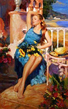 Vladimir Volegov, Russian Impressionist.