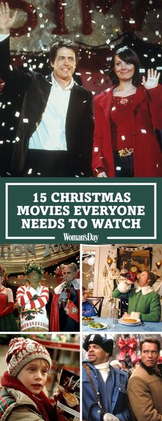 15 Christmas Movies Everyone Needs To Watch!