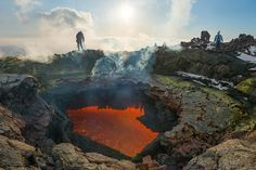 Journey to the Center of the Earth: An Incredible Glimpse Inside an Active Volcano