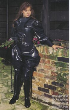 Latex Fetish Clothing For BDSM