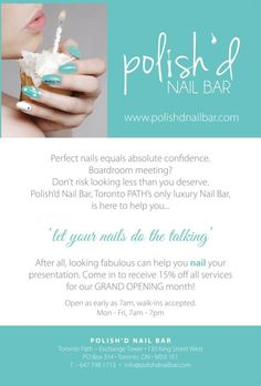 Nail-Salon-flyer-with-prices   Diy & crafts   Pinterest   Flyers ...