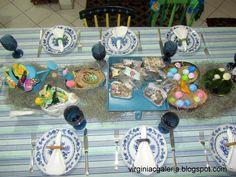 mesa de Pascoa
