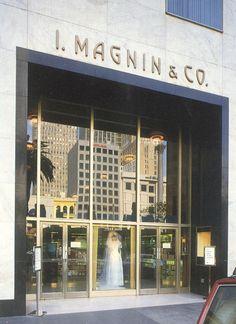memories...I. Magnin & Co., San Francisco, CA