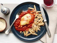 Get Healthy Instant Pot Chicken Parmesan Recipe from Food Network