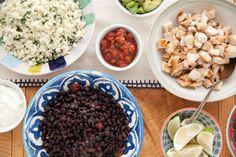 Chipotle Chicken Burrito Bowl | DeliciouslyOrganic.net #grainfree #recipe
