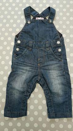 Salopette en jean enfant garçon 6mois neuve idéale pour cadeau naissance