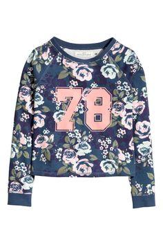 Wzorzysta bluza | H&M