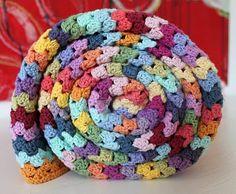crochet grannystripes