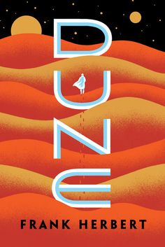 Dune by Frank Herbert.A stunning blend of adventure and mysticism, environmentalism and politics, Dune won the first Nebula Award, shared the Hugo Award, and formed the basis of what it undoubtedly the grandest epic in science fiction. Science Fiction, Good Books, Books To Read, My Books, Book Cover Art, Book Cover Design, Dune Book, Dune Frank Herbert, Poster